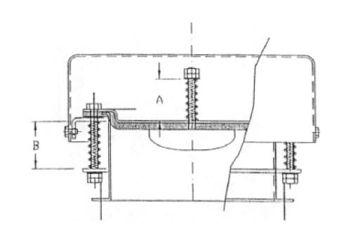 valvola antiscoppio valvola di sicurezza per silo